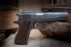Pistolet 1911A1  Remington Rand